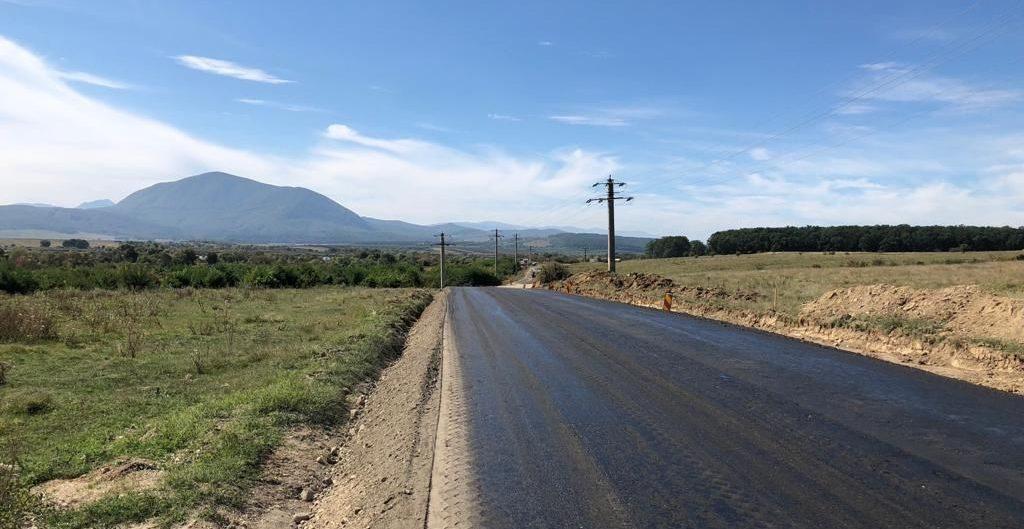 Reabilitare DJ 112C, drumul spre Delta din Carpati